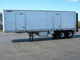 2001 Great Dane 32 Refrigerated Reefer Trailer Liftgate Thermo King
