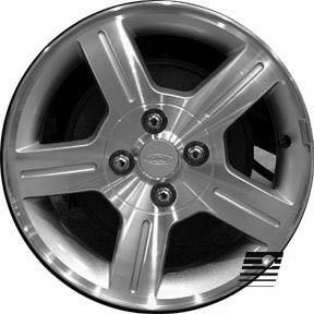 Refinished Ford ZX2 2003 2003 15 inch Wheel, Rim OEM