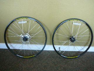 Disc Hub & Weinmann XC260 32h QR Front & Rear Wheels 26 Mountain Bike