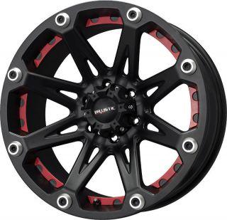 20x9 Ballistic Wheels Jester Black Rims 6x139 7 Chevy Tahoe Silverado