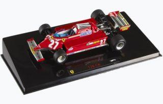 1981 Ferrari 126CK Gilles Villeneuve Hot Wheels Elite