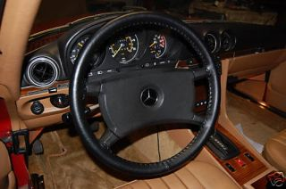 Mercedes Leather Steering Wheel Cover All Models Custom