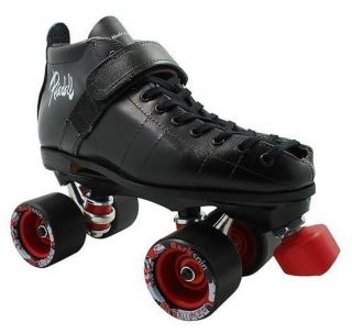 Speed Skates Riedell 126 Boot Backspin Wheels Juice Bearings Derby