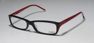 FERRE 24701 53 16 130 BLACK RED FULL RIM EYEGLASSES GLASSES FRAME