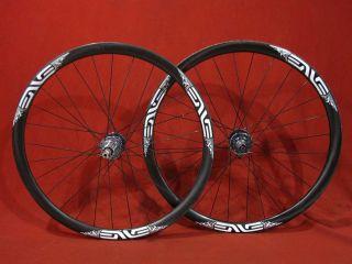 KING ISO DISC BRAKE WHEELSET w ENVE TUBULAR 26 RIMS  wheels