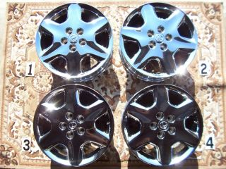LEXUS LS430 17 WHEELS RIMS CHROME STOCK OEM LEXUS ES350 TOYOTA CAMRY