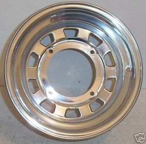 ATV Wheel Kawasaki rear wheel ITP Magnum polished 12X7 4on137mm 2 5
