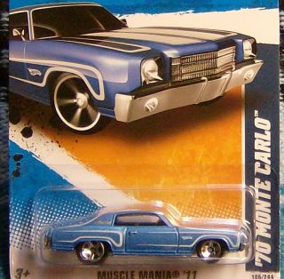 1970 Monte Carlo Hot Wheels Rat Rod Hot Rod