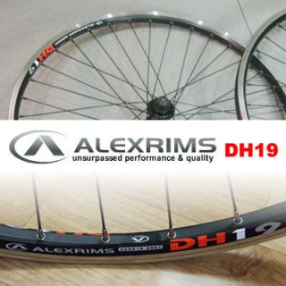 Shimano Deore LX DH19 Alexrims Wheel Set Wheels C138