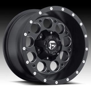 Revolver 6x135 6x5 5 ET1 Matte Black Milled Wheels 4 New Rims