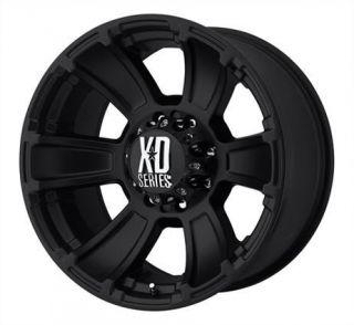 18 inch KMC XD Revolver Black Wheels Rims 6x5 5 6x139 7