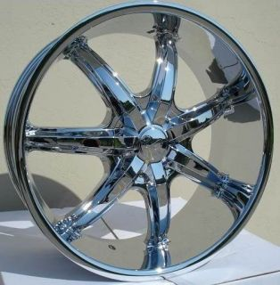 24 inch U35S Chrome Wheels Rim 5x5 5 5x139 7 Dodge RAM