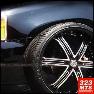 26 inch VE226 Versante VE226B Tahoe Silverado Wheels Rims