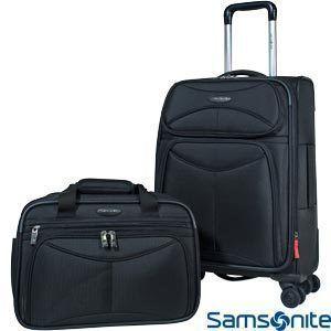 NEW SAMSONITE Luggage Set 21 Spinner Wheels Carry on & 16 Travel Bag