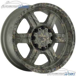 17x8 5 V Tec Offroad 5x127 5x5 0mm Camo Wheels Rims inch 17