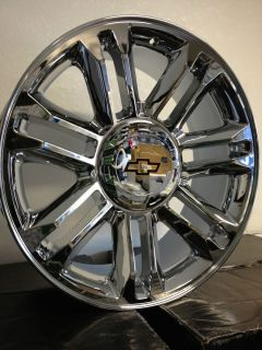 Cadillac Escalade Platinum Factory Rims Chevrolet Tahoe LTZ 6x5 5