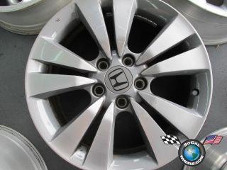 One 08 11 Honda Accord Factory 17 Wheel Rim 63938 42700TEOA91