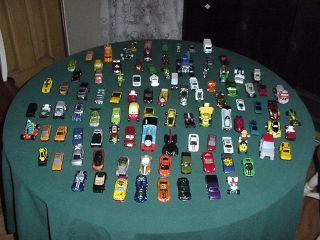 Minature Cars Toys 101 Cars Hotwheels Matchbox Others Huge Lot of