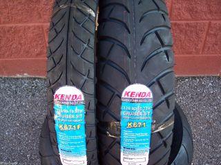 Two Tire Motorcycle Set 100 90 19 Front 170 80 15 Rear Kenda K671