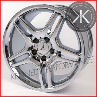 Single 18 inch Mercedes AMG Chrome Front Wheel Rim Mercedes SL R230