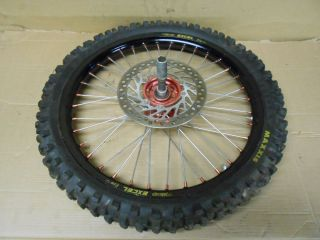 08 07 06 05 Honda CRF450 R CRF 450R 450 Front Wheel Excel Rim Rotor