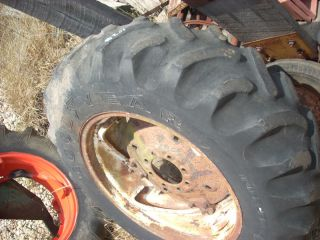 Chalmers WD WD45 Tractor 13 6 28 Goodyear Rear Tire and Complete Rim