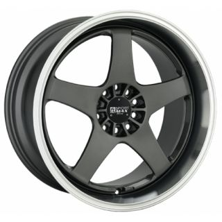 18 XXR 962 Gunmetal Rims Wheels 18x9 5 35 4x100