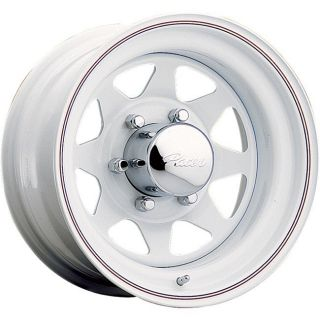 15x6 Pacer White Spoke Striped Wheel Rim 5x5 5 5x139 7 Bronco