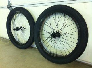 Odyssey 20 BMX Bike Rims Fit Bike Co Tires