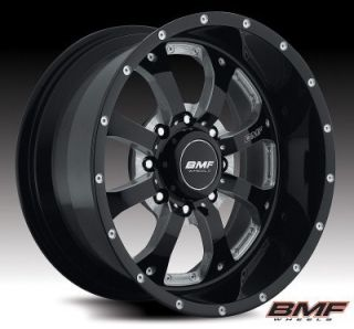 BMF Wheels 661B 010817019 Novakane 8 Death Metal Black 20x10 Bolt