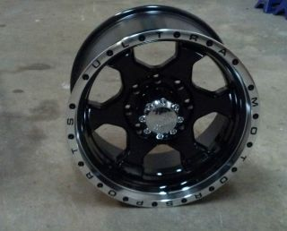 18 Ultra Rogue 8 Lug Ford Truck Wheel Rim 8x170 18x10 Black Machined