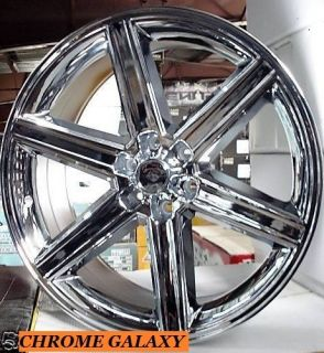24 Chrome Rims Tires 6x139 Chevy Tahoe GMC Denali New