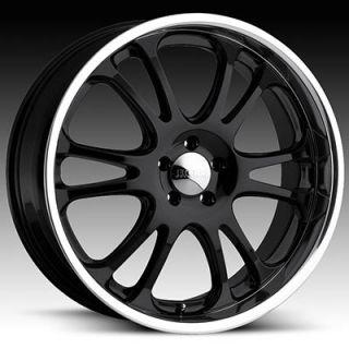 Motorsports Style 313 3132 Black Polished Wheels Rims 6x139 7