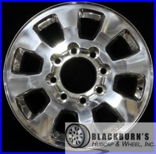 11 12 GMC Sierra Denali 2500 3500 SRW 18 Polished Wheel Take Off Rim