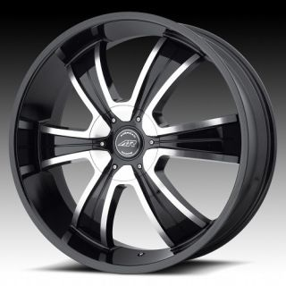 20 inch AR894 Black Wheels Rims 5x5 5 5x139 7 Dodge RAM 1500 Ford