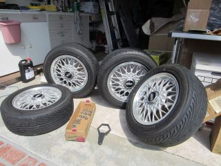 Mazda Miata BBs Wheels and Yokohama Tires Full Set of 4