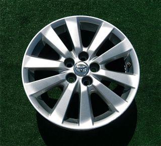 Original Finish Genuine Factory Toyota Corolla Matrix 16 inch Wheel