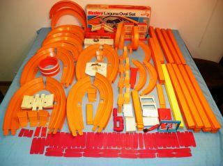 Huge Hot Wheels RedLine Sizzler Orange Track Juice machine Power Pit