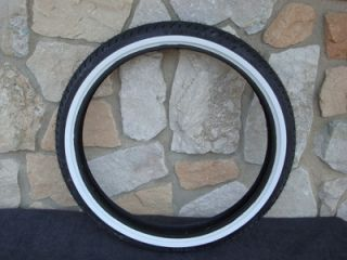 Whitewall Front Tire for Harley Mammoth 60 80 Spoke Wheels