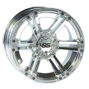 ITP 12 x 7 SS212 Chrome Golf Cart Car Rim Wheel New