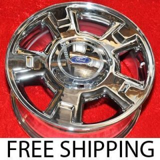 New Chrome 17 Ford F 150 Pick Up OEM Factory Wheels Rims 3781 EXCHANGE