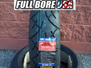 140 90 16 MU85 16 Rear Full Bore USA Touring Motorcycle Tire Free