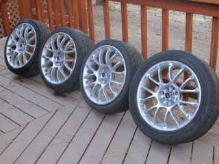 Four 17 inch Konig Rims Wheels Tires