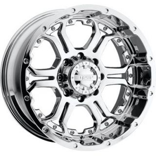 18 inch Gear Alloy Recoil Chrome Wheel Rim 8x170 F250 F350 Excursion