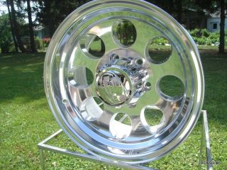 171 Polished ion 16x8 5 Lug Mopar Dodge Plyouth Jeep Wrangler Ranger