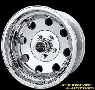 15 x8 American Racing AR172 Baja Polished 4 5 6 Lug Wheels Rims