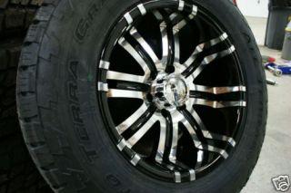 18 inch Ford F150 F 150 Wheels Rims Nitto Terra Tires