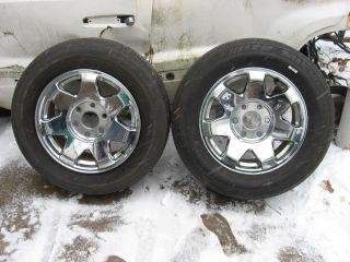2002 06 Cadillac Escalade ESV Ext Wheel Rim Chrome 17 Aluminum Factory