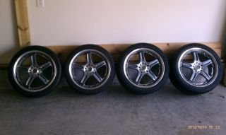 18 Volk Rays GT C Rims Wheels Staggered Set Tires 5x114 3 Forged JDM