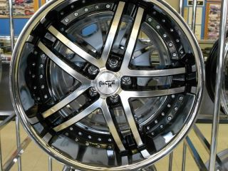 Essence Wheels Mercedes Benz s CL 500 550 600 Staggered Rims